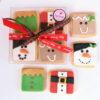 Κουτί με χριστουγεννιάτικα μπισκότα