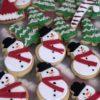 Χιονάνθρωποι και έλατα μπισκότα ( κιλού )