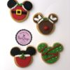 Χριστουγεννιάτικα μπισκότα σε σχήμα Μίκυ
