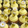 Cupcakes με στολισμόΜέλισσα