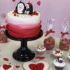 Mr. & Ms. Penguin Cake