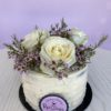 Wax Flower Mother's Day Cake