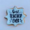 Μπισκότο Best Teacher μπλέ