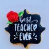 Μπισκότο Best Teacher μαύρο