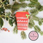 Christmas take away cup