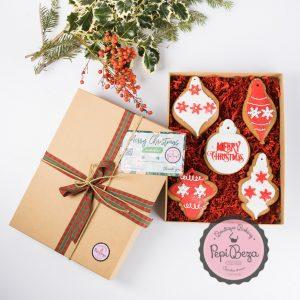 Gift Box Red Christmas
