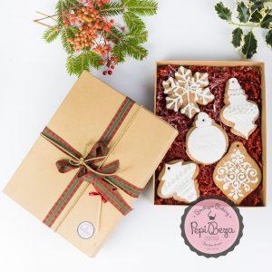 gift box white angel