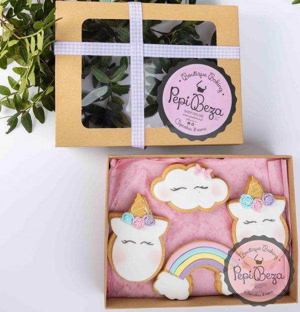 cookie box unicorn