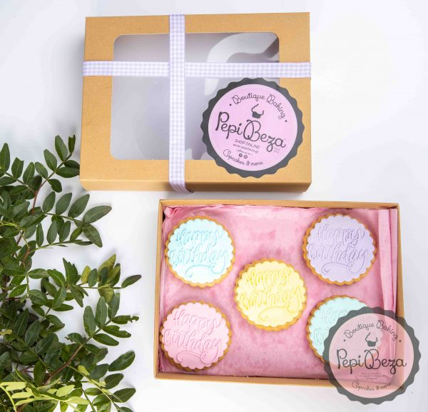 cookie box happy birthday