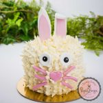 white rabbit cake