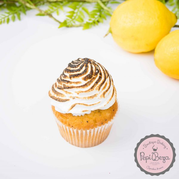 Cupcake Lemon Meringue